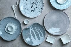 Free Ceramic Tableware On   Background Stock Images - 108968284
