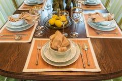 Ceramic tableware Stock Photography