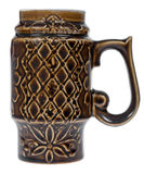 Ceramic tankard Stock Image