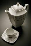 ceramic tea pot set Royalty Free Stock Images