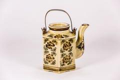 Ceramic Tea Pot Stock Photo