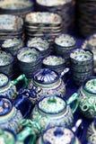 Ceramic tea set Stock Photos