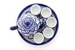Ceramic tea set Stock Photography