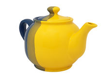 Ceramic teapot Stock Images