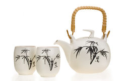 Ceramic teapot Royalty Free Stock Images
