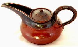 Ceramic teapot Stock Photo