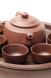 Ceramic teapot Stock Photography