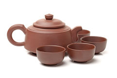 Ceramic teapot Stock Image
