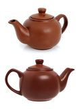 Ceramic teapot for brewing tea Stock Photos
