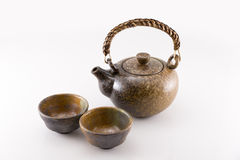 Ceramic teapot Royalty Free Stock Photos