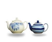 Ceramic teapot isolated on white background. Stock Photography