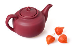 Ceramic teapot Royalty Free Stock Photography