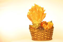 Ceramic Thanksgiving Piece royalty free stock photography