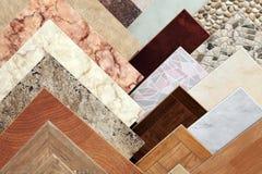Ceramic tile. Samples of a ceramic tile in shop Stock Images
