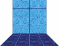 Ceramic tile. Abstract, ceramic tile Stock Photos