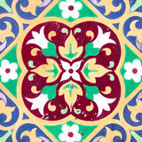 Ceramic tile closeup Stock Photo