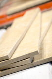 ceramic tile cutting process Stock Image
