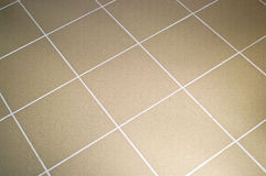 Ceramic tile floor brown color Stock Photography