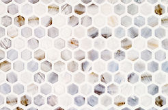 Ceramic tile mosaic Stock Image