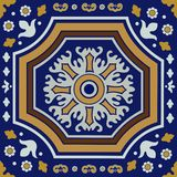 Ceramic tile ornament royalty free illustration