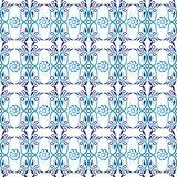 Ceramic tile pattern. Islamic, indian, arabic motifs. Damask seamless pattern. Porcelain ethnic bohemian background. Abstract. Flower. Print for fabric and stock illustration