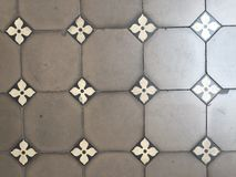 Ceramic tile. Plate Stock Images