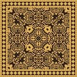 Ceramic Tile Seamless Pattern. Mediterranean Style Ceramic Tile Seamless Pattern vector illustration