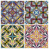 Ceramic Tile Set Royalty Free Stock Photos