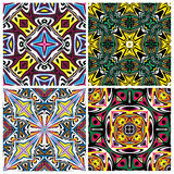 Ceramic Tile Set Royalty Free Stock Photography