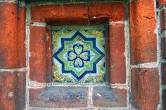 Ceramic tile. Royalty Free Stock Photos