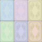 Ceramic Tile. S in pastel colors vector illustration
