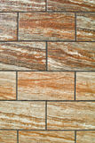 Ceramic tile wall Royalty Free Stock Photos