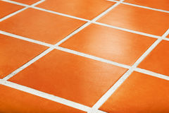 Ceramic tiled floor Royalty Free Stock Image