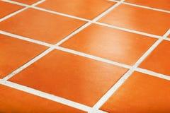 Ceramic Tiled Floor Royalty Free Stock Image