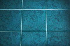 Ceramic tiled floor Stock Photos