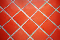 Ceramic tiled floor Royalty Free Stock Photo