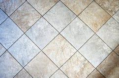 Ceramic tiled floor Royalty Free Stock Photos