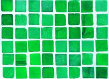 Ceramic tiles. Abstract image of green tiles stock image