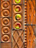 Ceramic Tiles. With multicolor glaze Royalty Free Stock Photo