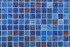Ceramic Tiles. A photo taken on some blue square ceramic tiles Royalty Free Stock Images