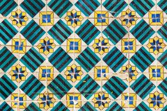 Ceramic tiles Azulejo. Portugal royalty free stock image