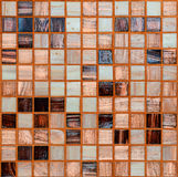 Ceramic tiles background Stock Images