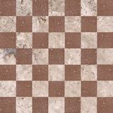 Ceramic tiles beige mosaic Stock Image