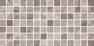 Ceramic tiles beige mosaic Royalty Free Stock Image