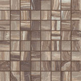 Ceramic tiles beige mosaic Stock Photo