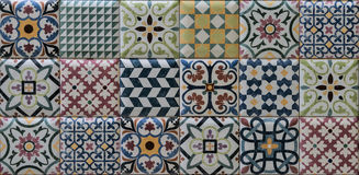 Ceramic tiles. For decoration interior Stock Photos
