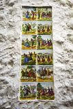 Ceramic Tiles depicting aspects of Spanish Culture in the Old Town of Marbella on the Costa del Sol Spain. Marbella is a city in Andalusia,Spain, by the Royalty Free Stock Photos