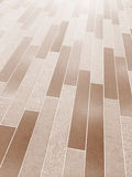 Ceramic tiles floor Royalty Free Stock Photography