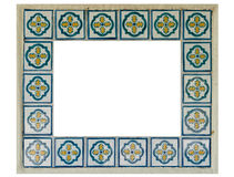 Ceramic Tiles Frame Stock Photography