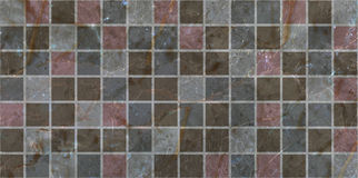 Ceramic tiles mosaic Stock Photography